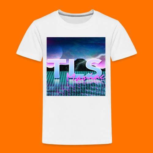 80s Themed TLS Maniac Logo - Kids' Premium T-Shirt