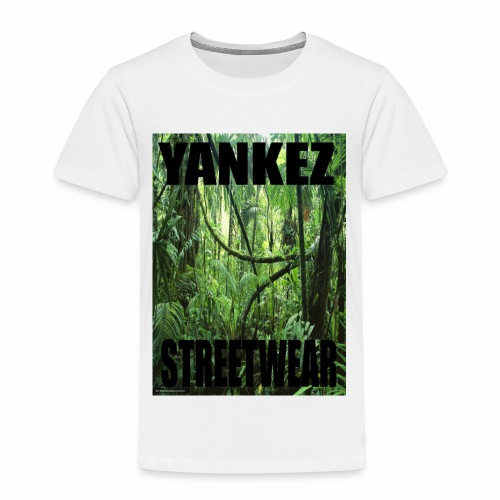 Yankez Backprint Jungle - Kinder Premium T-Shirt