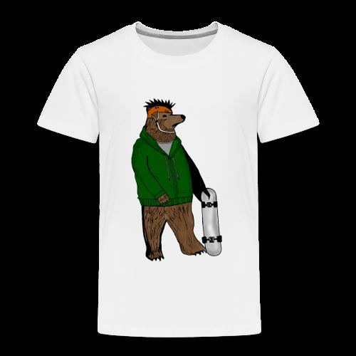 Skate Bjorn - Kids' Premium T-Shirt