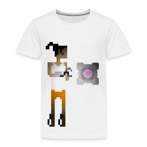 chell 2D - Kinderen Premium T-shirt