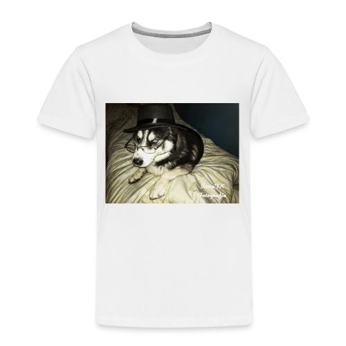 Husky möchte auch süßes oder saures - Kinder Premium T-Shirt