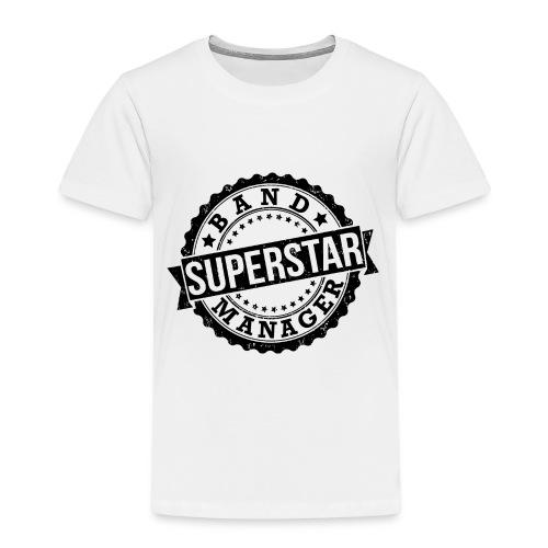 Superstar Band Manager Logo Black - Kids' Premium T-Shirt