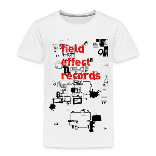 field effect records #2 - Lasten premium t-paita