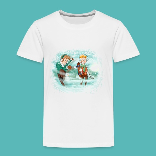 snow ball - Camiseta premium niño