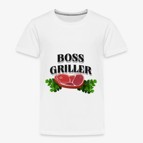 Boss Griller - Kids' Premium T-Shirt