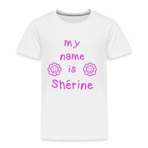 SHERINE MY NAME IS - T-shirt Premium Enfant