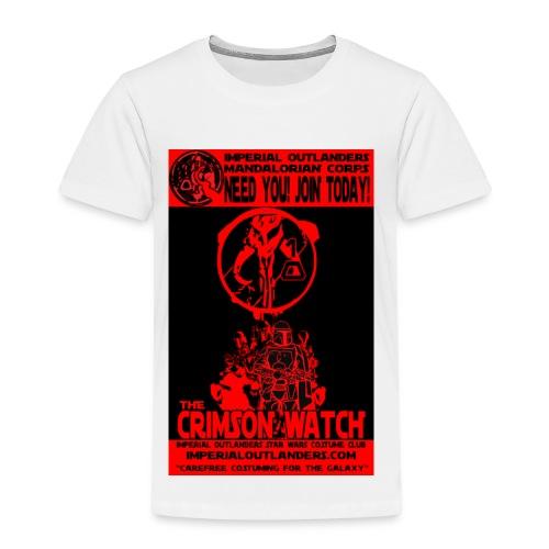 Crimson recruit tee - Kids' Premium T-Shirt