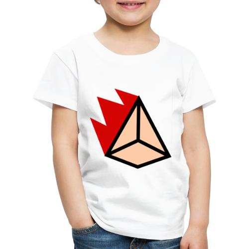 Burning Pyramid - Kinder Premium T-Shirt
