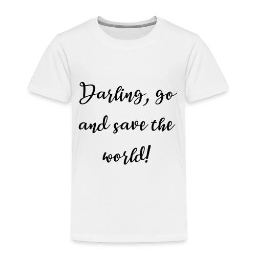 Weltretterin - Kinder Premium T-Shirt