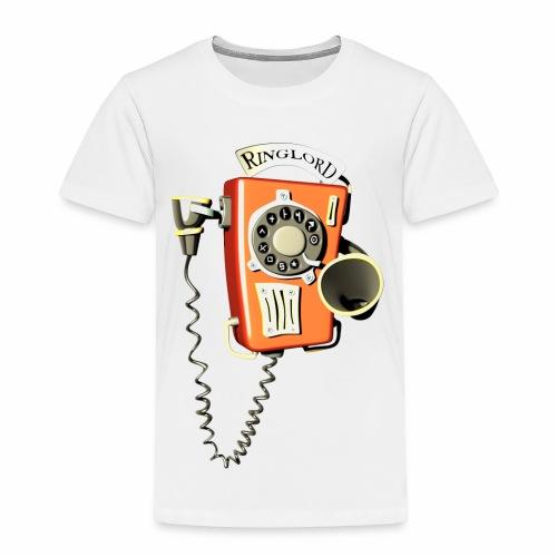 Ringlord Telefon Wandtelefon - Kinder Premium T-Shirt