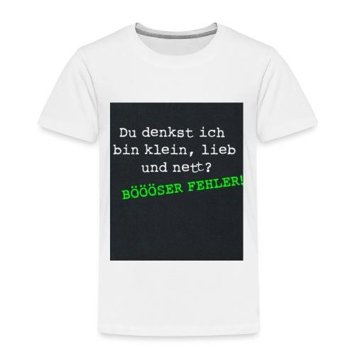 7FA3501C C455 441F 8832 CE7796C2CCF4 - Kinder Premium T-Shirt