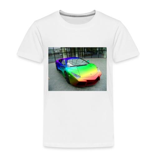 bakgrund - Premium T-skjorte for barn