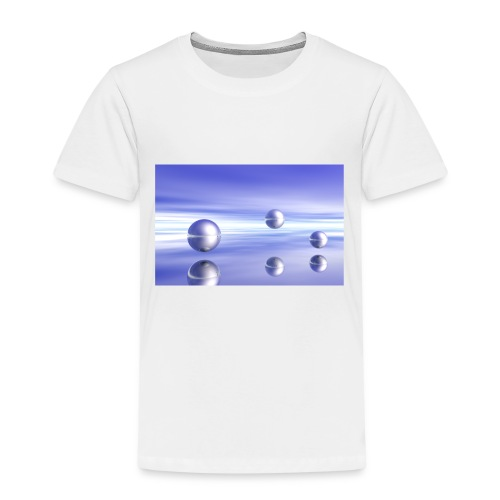 Kugel - Landschaft in 3D - Kinder Premium T-Shirt