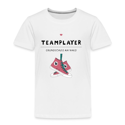 T Shirt Team Player - Kinder Premium T-Shirt