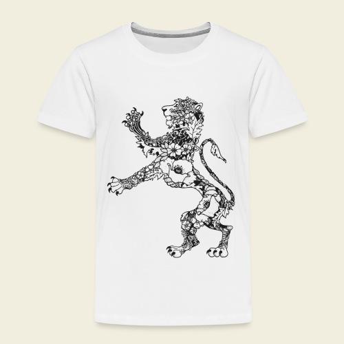 Wappen Löwe - Kinder Premium T-Shirt