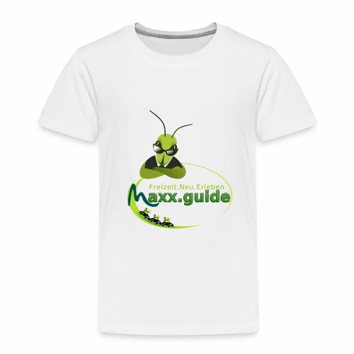 Freizeit.Neu.Erleben mit maxx.guide! - Kinder Premium T-Shirt