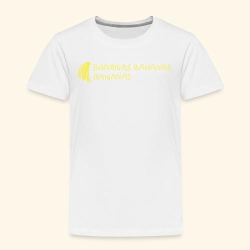 Bananas Bananas Bananas Official - Kinder Premium T-Shirt
