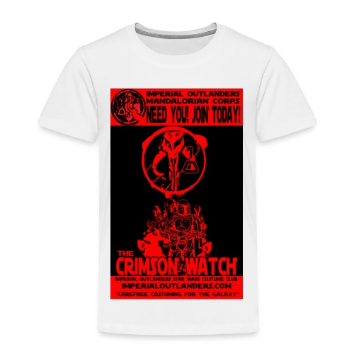 Crimson recruit tee - Kids' Premium T-Shirt