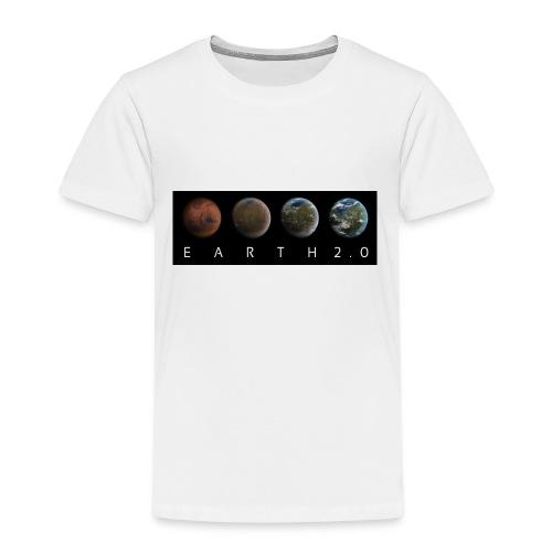 Mars Transformation - Weltraum Universum Geschenk! - Kinder Premium T-Shirt