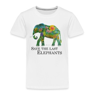 Save The Last Elephants - Kinder Premium T-Shirt