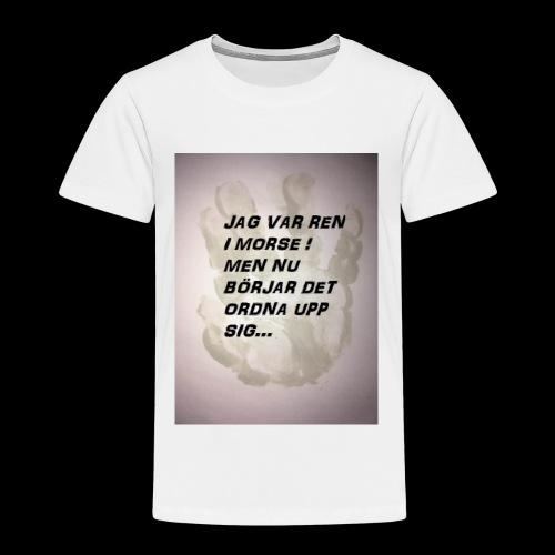 SKITUNGE - Premium-T-shirt barn