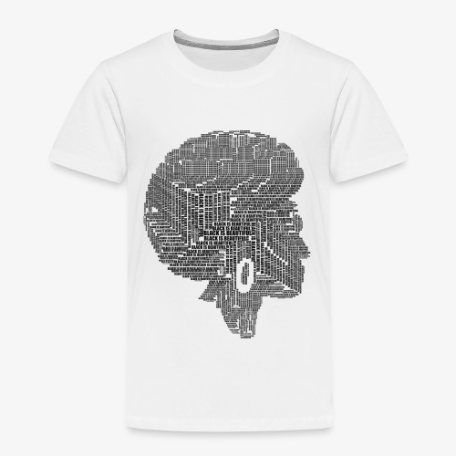 Black Is Beautiful Afro - T-shirt Premium Enfant