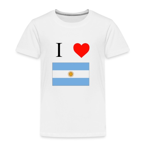 i love argentina - Camiseta premium niño