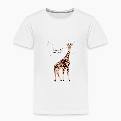 Giraffe - Reach for the stars - Kids' Premium T-Shirt