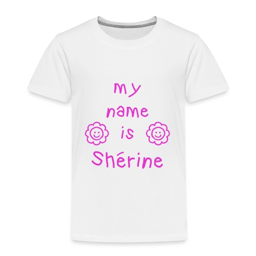 SHERINE MY NAME IS - T-shirt Premium Enfant