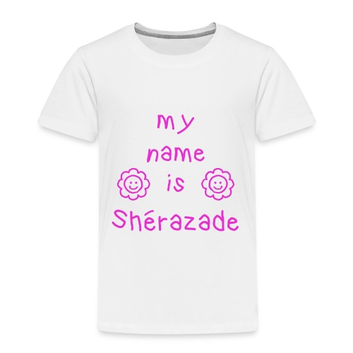 SHERAZADE MY NAME IS - T-shirt Premium Enfant