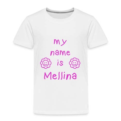 MELLINA MY NAME IS - T-shirt Premium Enfant