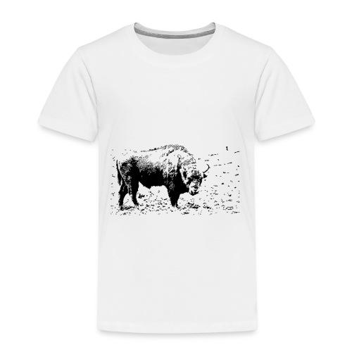 Żubr - kontrast - Koszulka dziecięca Premium