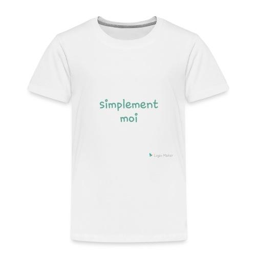 Simplement moi bio - T-shirt Premium Enfant