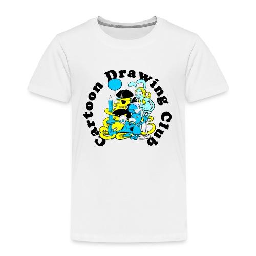 Cartoon Drawing Club - Kids' Premium T-Shirt