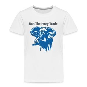 Ban The Ivory Trade - Kinder Premium T-Shirt