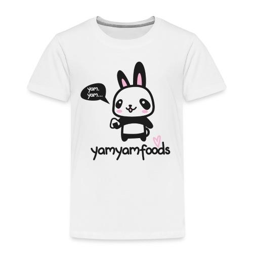 Panda-Hase mit Onigiri - Kinder Premium T-Shirt
