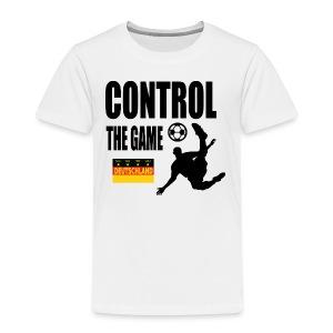 Control the game Deutschland zwart - Kinderen Premium T-shirt
