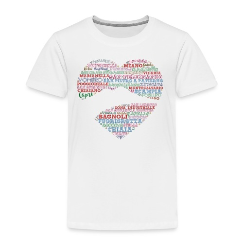 I Luoghi di Napoli di CuordiNapoli - Maglietta Premium per bambini