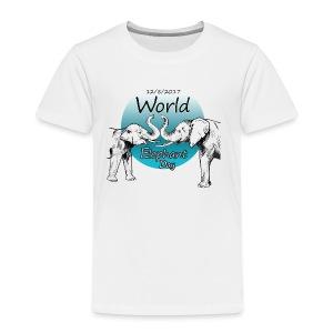 World Elephant Day 2017 - Kinder Premium T-Shirt