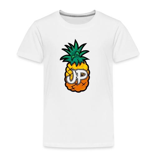 Just Pine Logo White - Kids' Premium T-Shirt