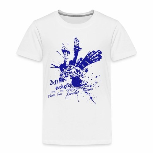 blue - Kinder Premium T-Shirt