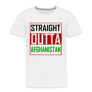 STRAIGHT OUTTA AFGHANISTAN - Kids' Premium T-Shirt