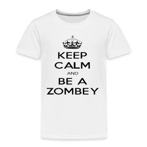 MiningZombey Merchstore logo v1 schwarz - Kinder Premium T-Shirt