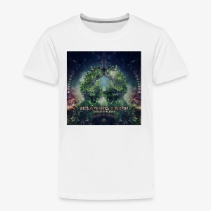 VA Breathing Earth cover front - Kids' Premium T-Shirt