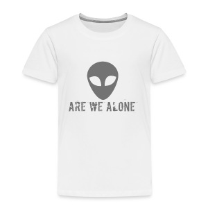 Are we alone logo - Kids' Premium T-Shirt