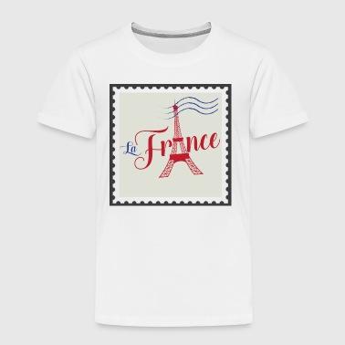 Timbre — La France - T-shirt Premium Enfant