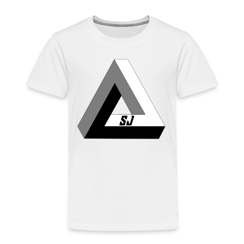 SJ Unlimited triangle - Premium T-skjorte for barn