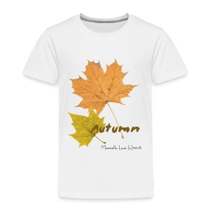 Streetworker art by Marcello Luce - autumn 2018 - Kinder Premium T-Shirt