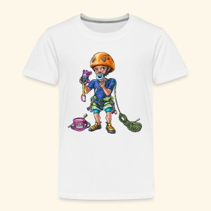 Little baby climber 2 - Kids' Premium T-Shirt