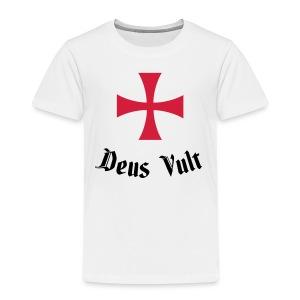 Deus Vult - Kinderen Premium T-shirt